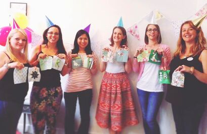 Craft Hen Parties with Crafts and Giggles